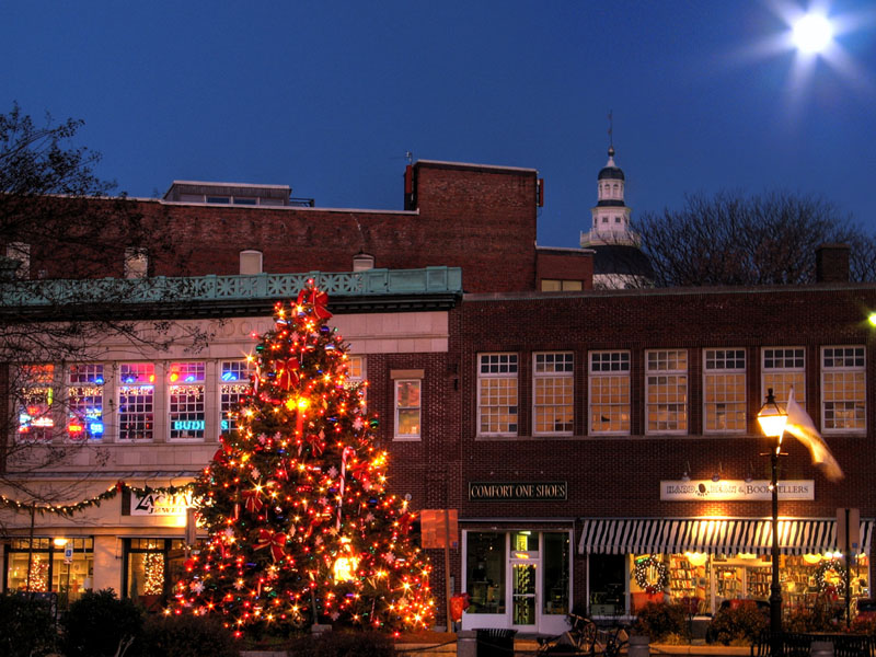 ஷ৴¨ ̅ ™*৲Ϡ₡صور أنابوليس₡ ৴¨ Annapolis_Harbor_Christmas_Tree_2006_Moonlit.800.jpg