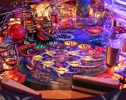 Join the Cirqus, 1995 Bally Pinball Machine